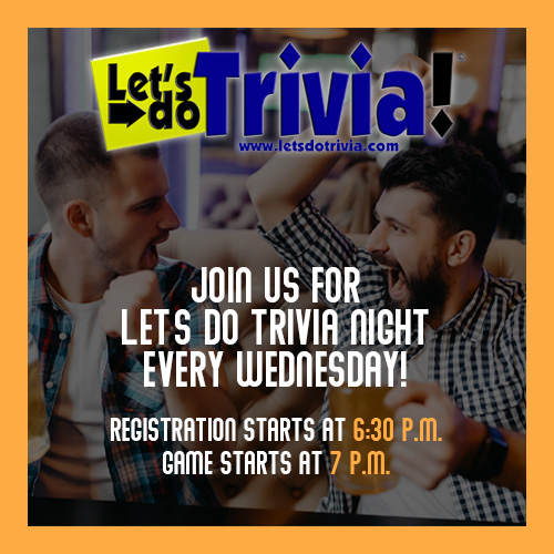 alley oops trivia night every wednesday hosted by lets do trivia